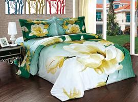 Комплект постельного белья евро 3D