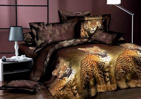3D SL Комплект постельного белья двуспальный, 4 предмета.