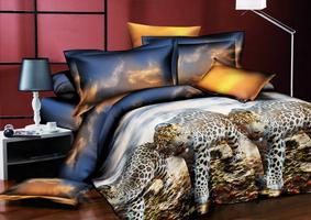 3D SL Комплект постельного белья семейный, 5 предметов