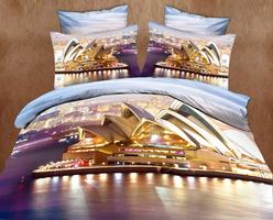 3D SL Комплект постельного белья полутороспальный, 4 предмета