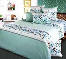 Текс Дизайн Комплект постельного белья «Апрель» евро 1, 4 предмета.