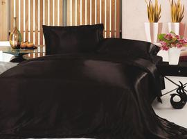 Комплект постельного белья. Атласный шелк.