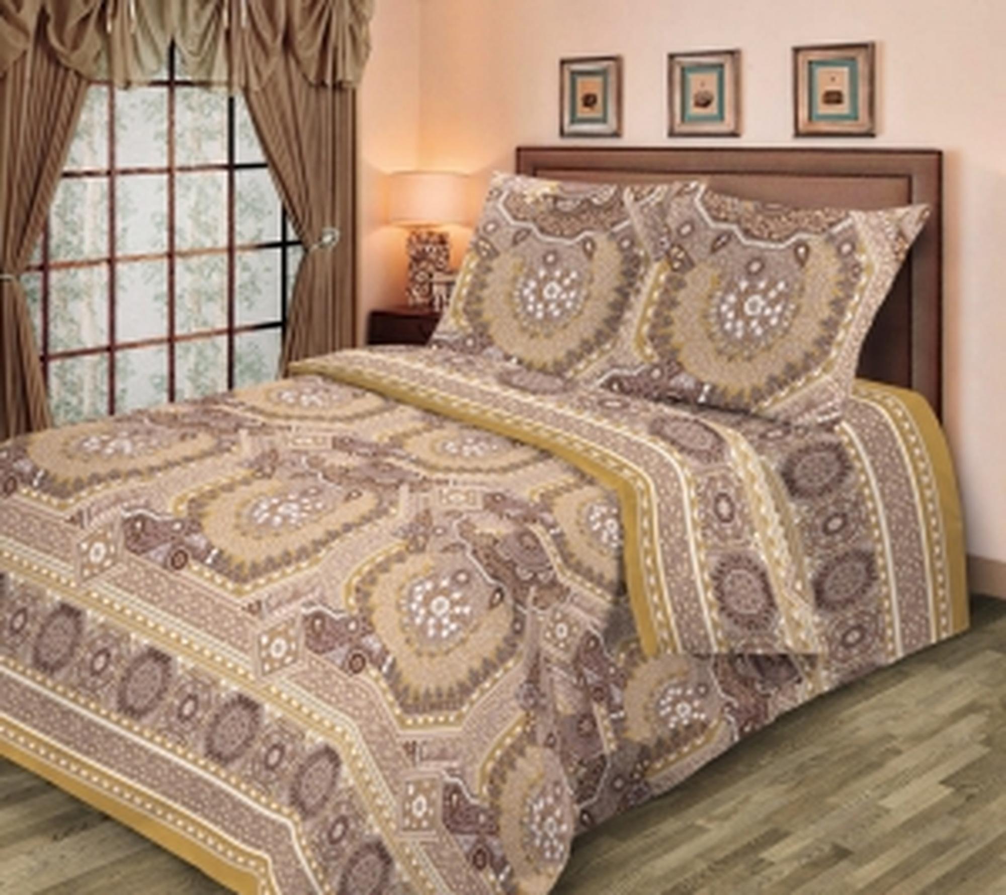 Текс Дизайн Комплект постельного белья «Баллада 1» евро, 4 предмета.