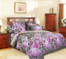 Текс Дизайн Комплект постельного белья «Барокко 3» евро 1, 4 предмета.