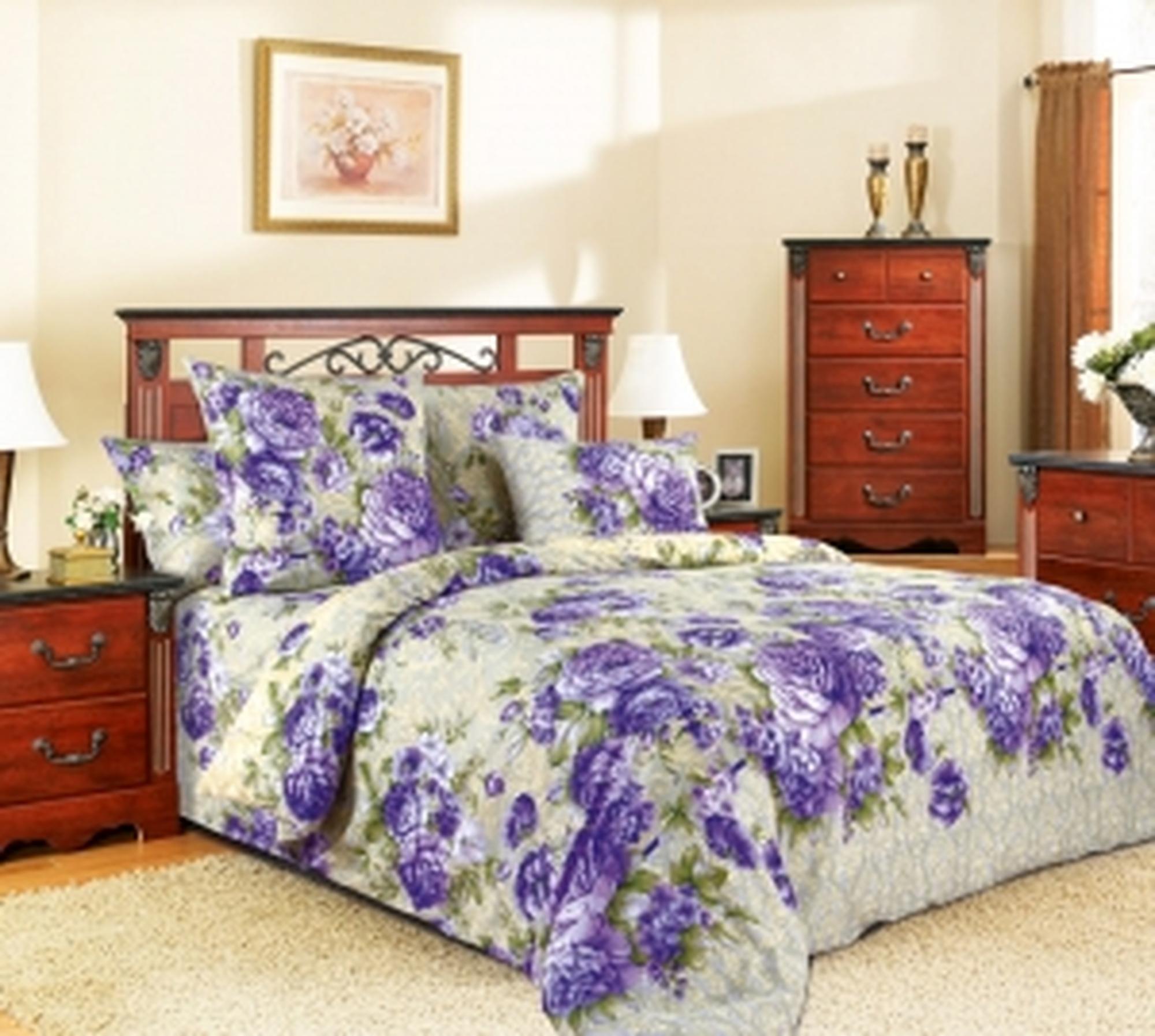 Текс Дизайн Комплект постельного белья «Барокко 2» евро 1, 4 предмета.