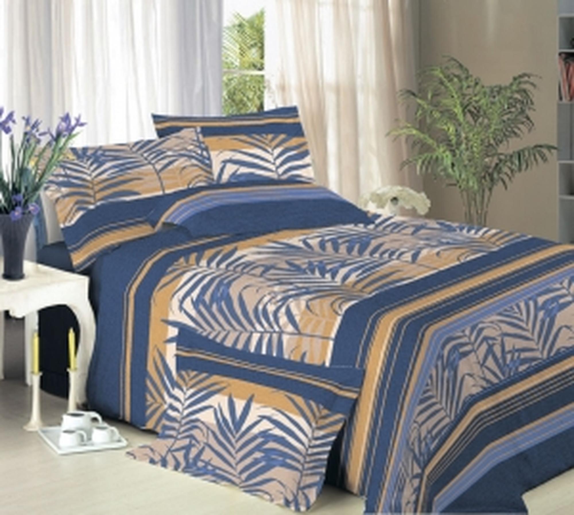 Текс Дизайн Комплект постельного белья «Бродвей» евро 1, 4 предмета.