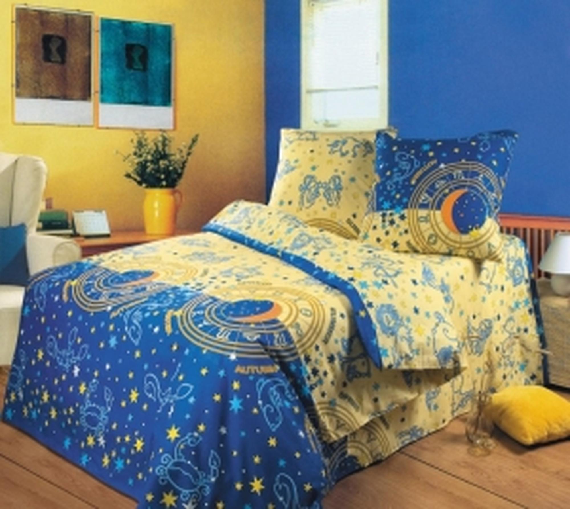 Текс Дизайн Комплект постельного белья «День и ночь» евро 1, 4 предмета.