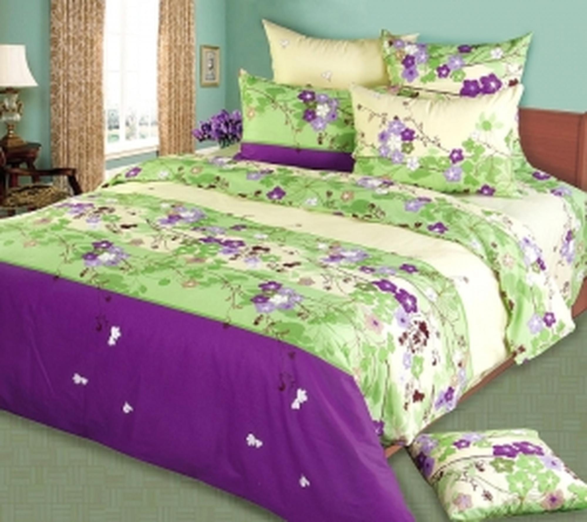 Текс Дизайн Комплект постельного белья «Дуновение 3» евро 1, 4 предмета.