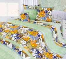 """Текс Дизайн Комплект постельного белья «Гиацинт 5"""" евро, 4 предмета."""