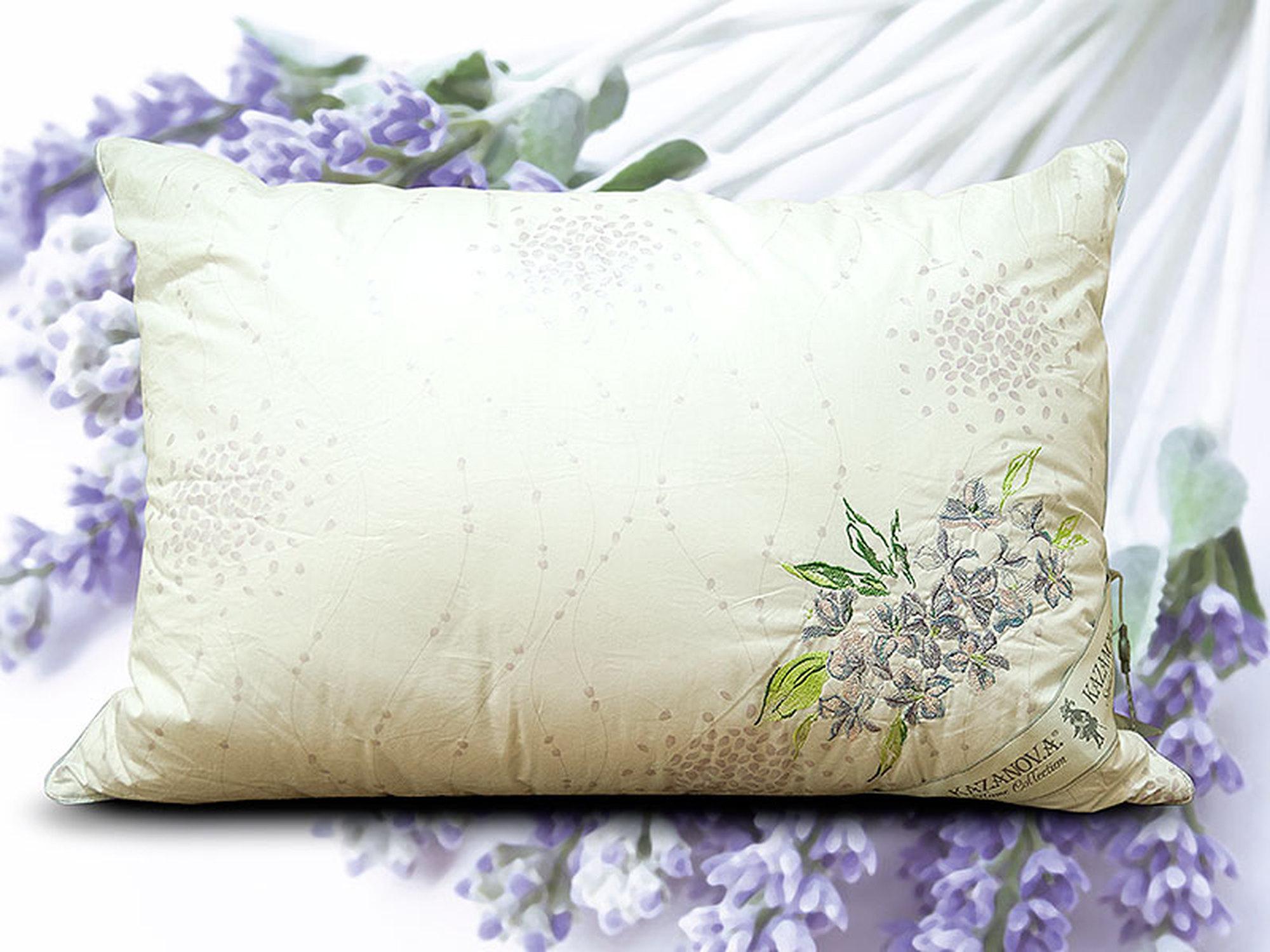 "KAZANOV.A Подушки Organic Fibers ""Provence Lavender"" 70х70см"