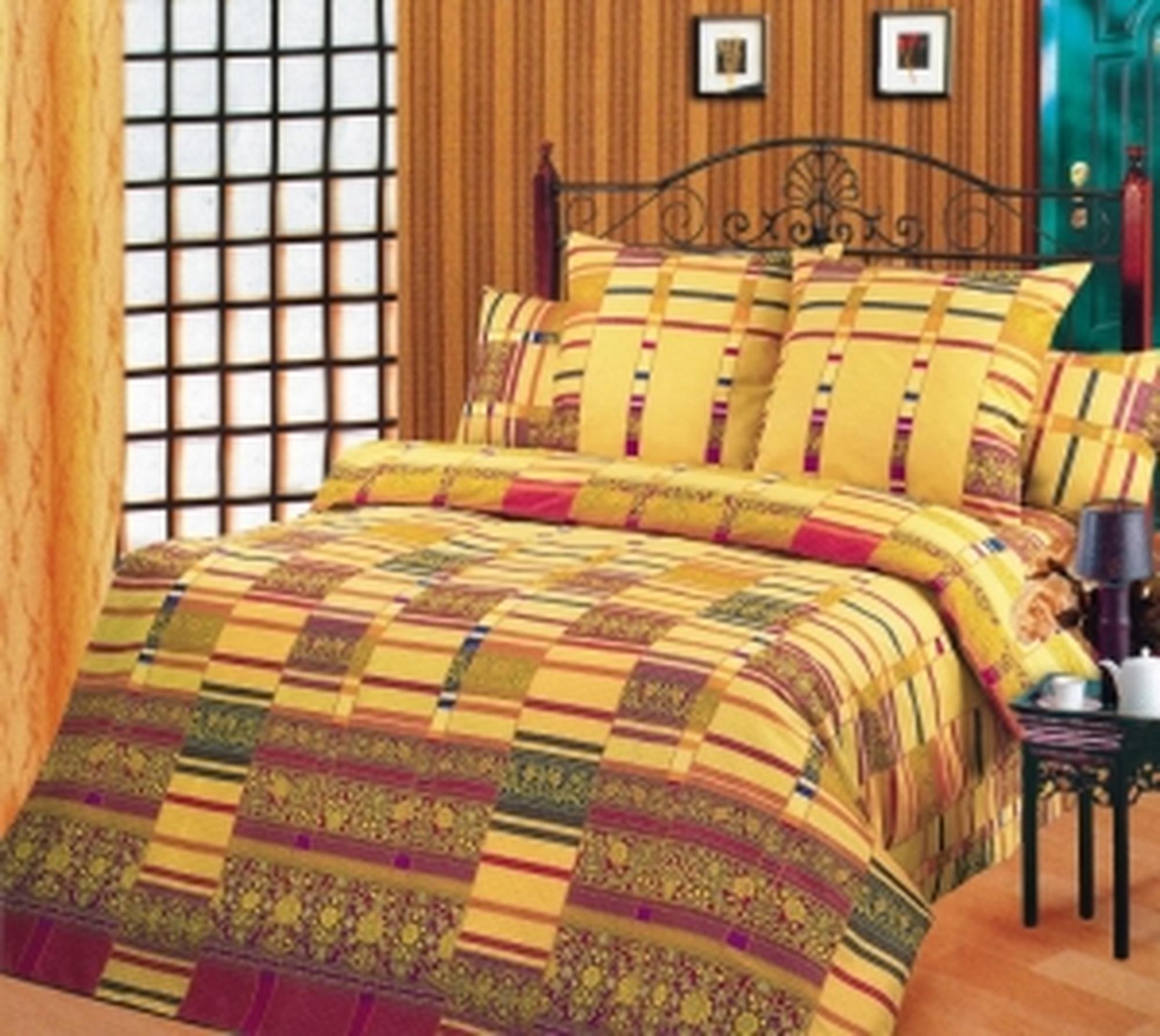 Текс Дизайн Комплект постельного белья «Версаль» евро 1, 4 предмета.