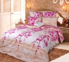 Текс Дизайн Комплект постельного белья «Весенняя соната 1» евро 1, 4 предмета.