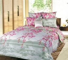 Текс Дизайн Комплект постельного белья «Весенняя соната 2» евро 1, 4 предмета.