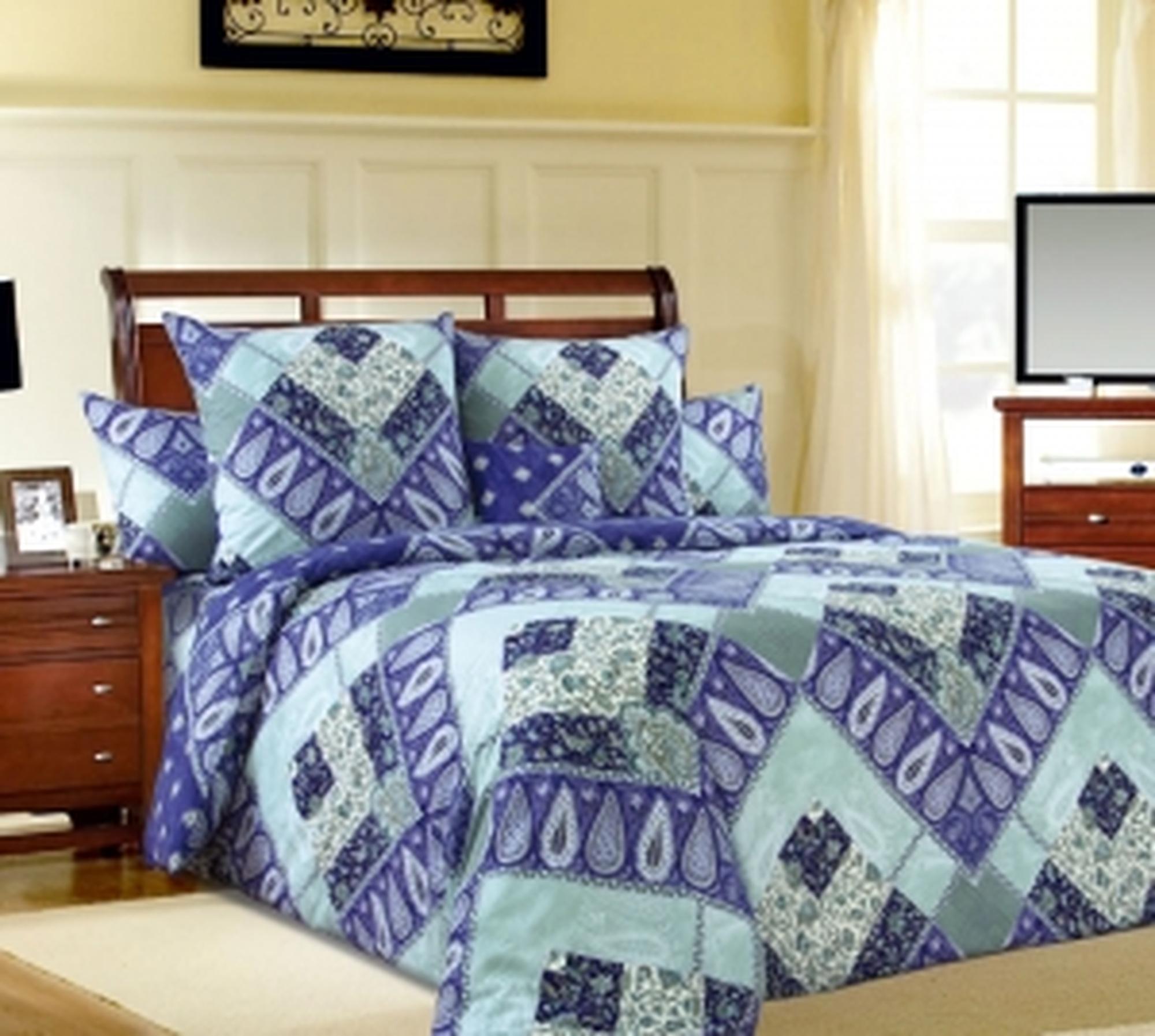 """Текс Дизайн Комплект постельного белья «Виртуоз 1"""" евро, 4 предмета."""