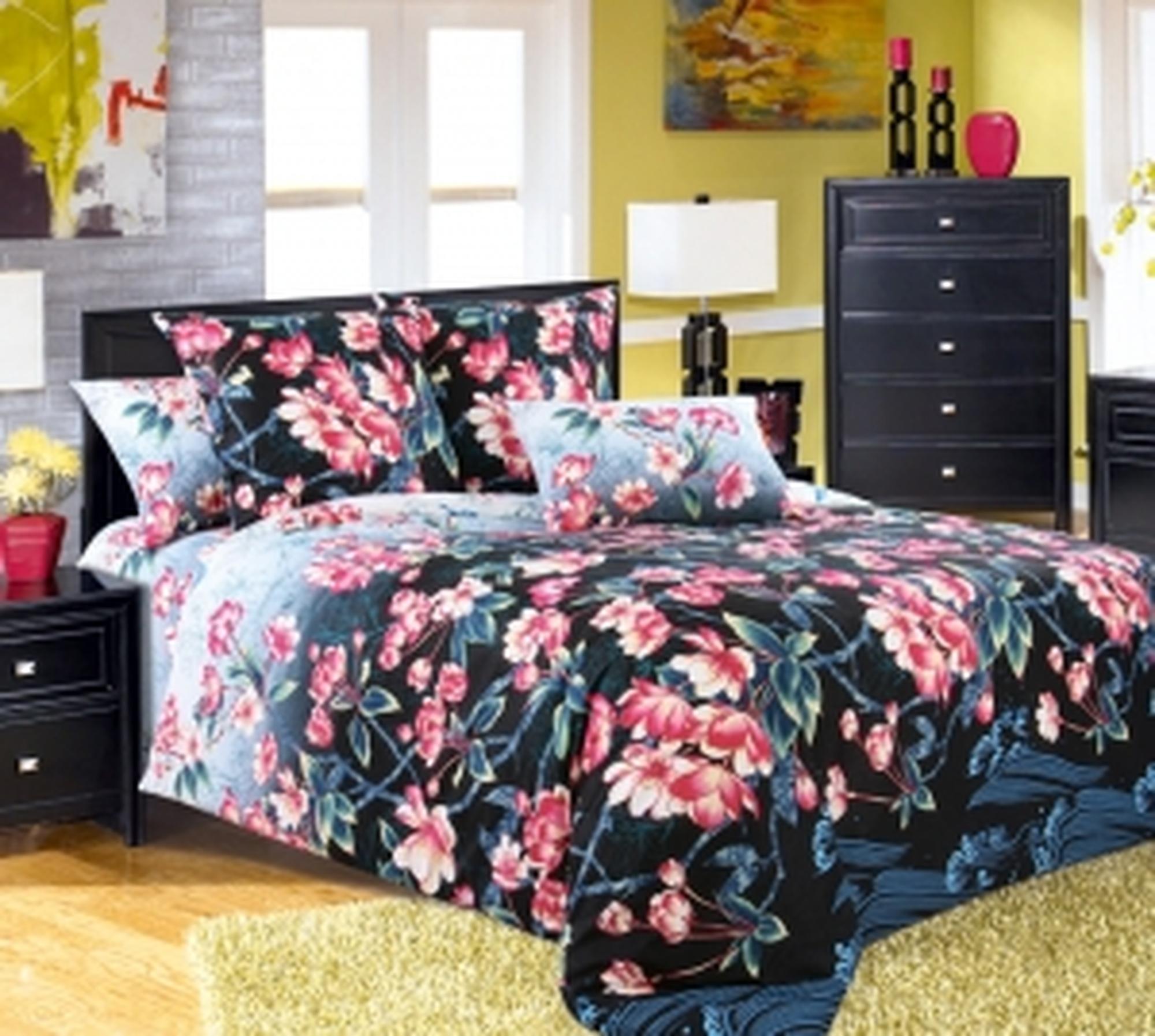 Текс Дизайн Комплект постельного белья «Восточный колорит 1» евро 1, 4 предмета.